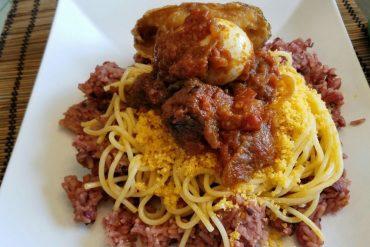 Ghanaian Waakye