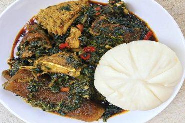 Nigerian Afang Soup